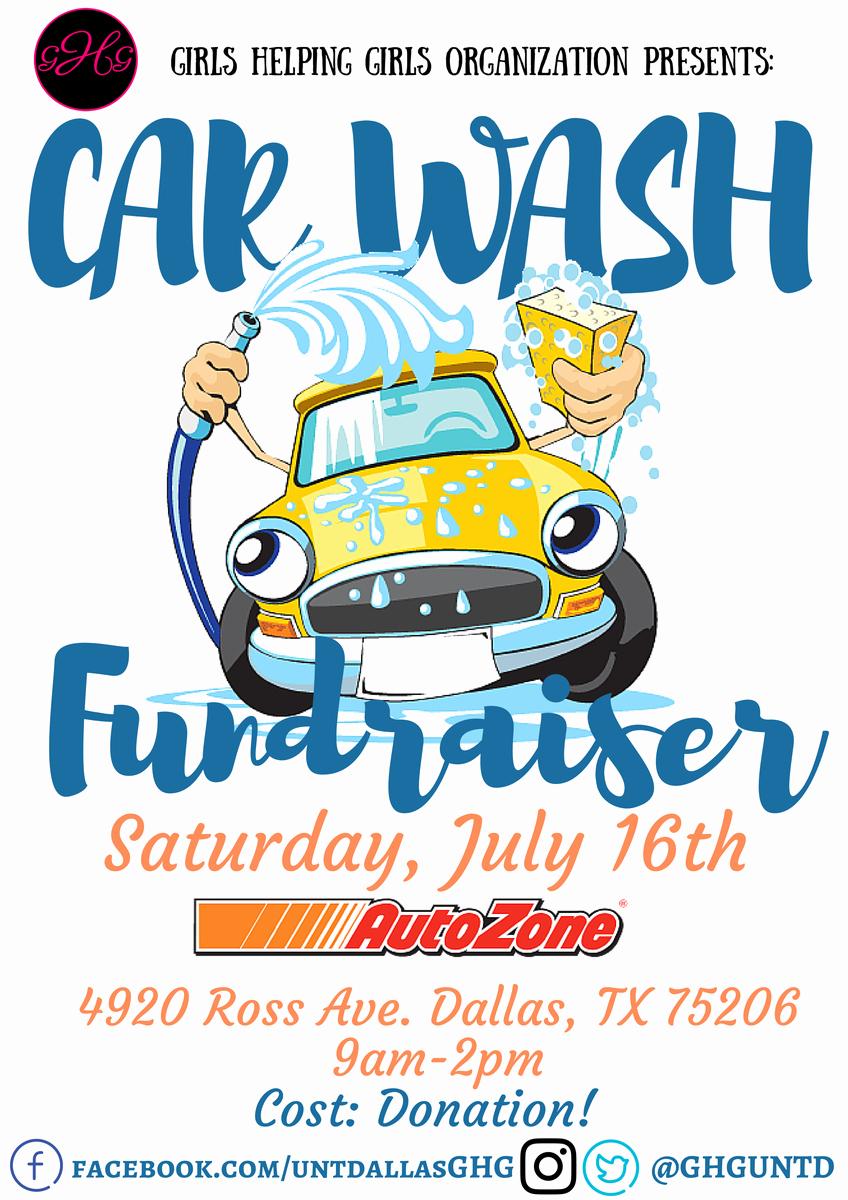 Car Wash Fundraiser Flyers Lovely Girls Helping Girls Ghguntd