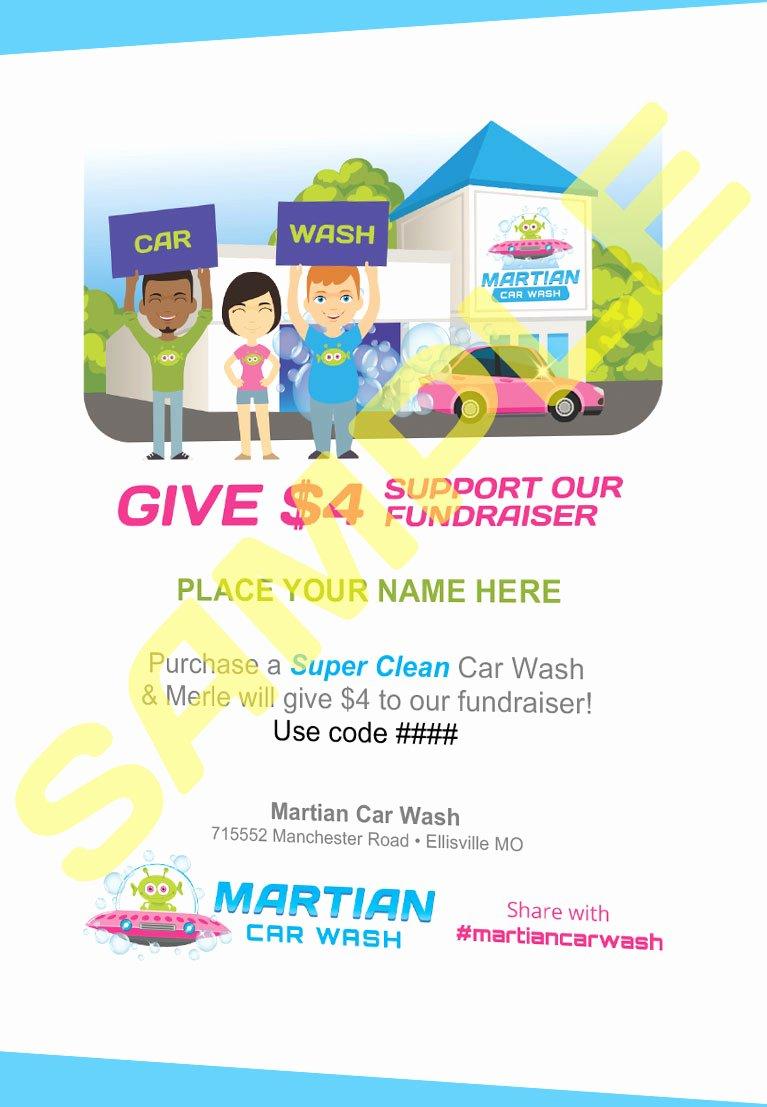 Car Wash Fundraiser Flyers New Car Wash Fundraiser St Louis