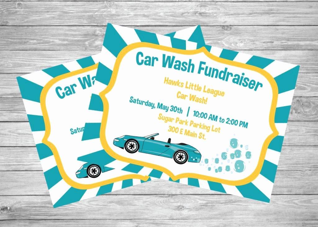 Car Wash Fundraiser Flyers Unique 16 Car Wash Flyer Designs & Examples – Psd Ai