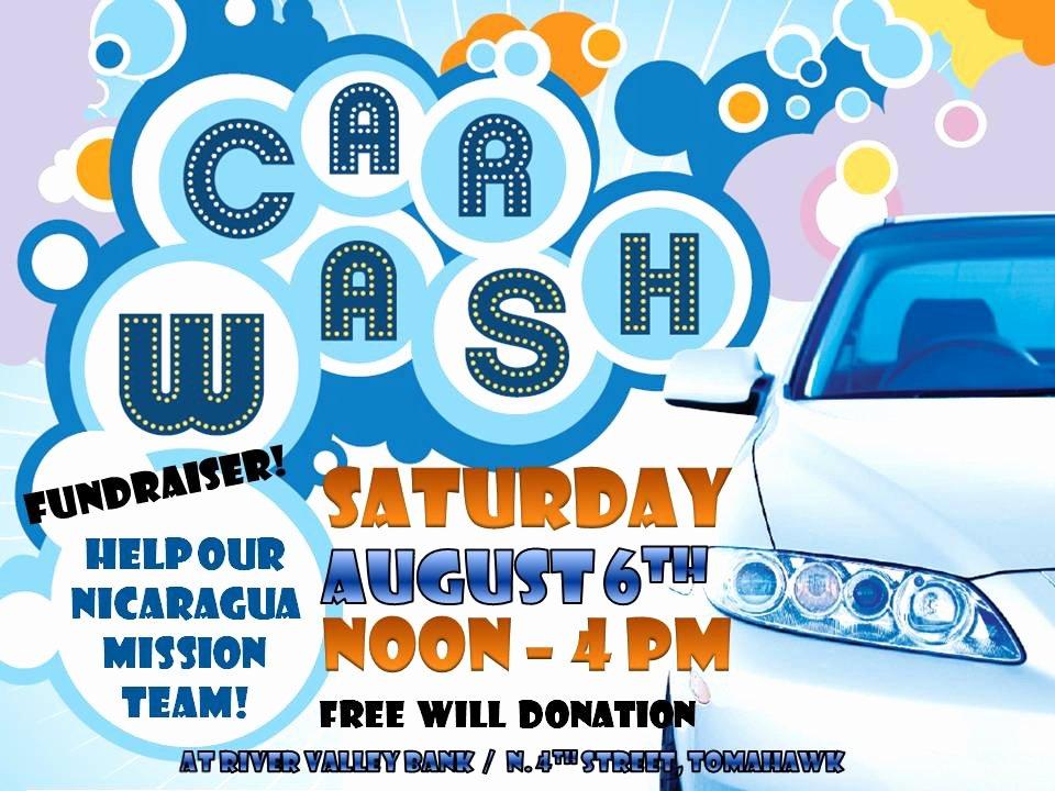 Car Wash Fundraiser Flyers Unique Car Wash Donations – Temple Wash Works