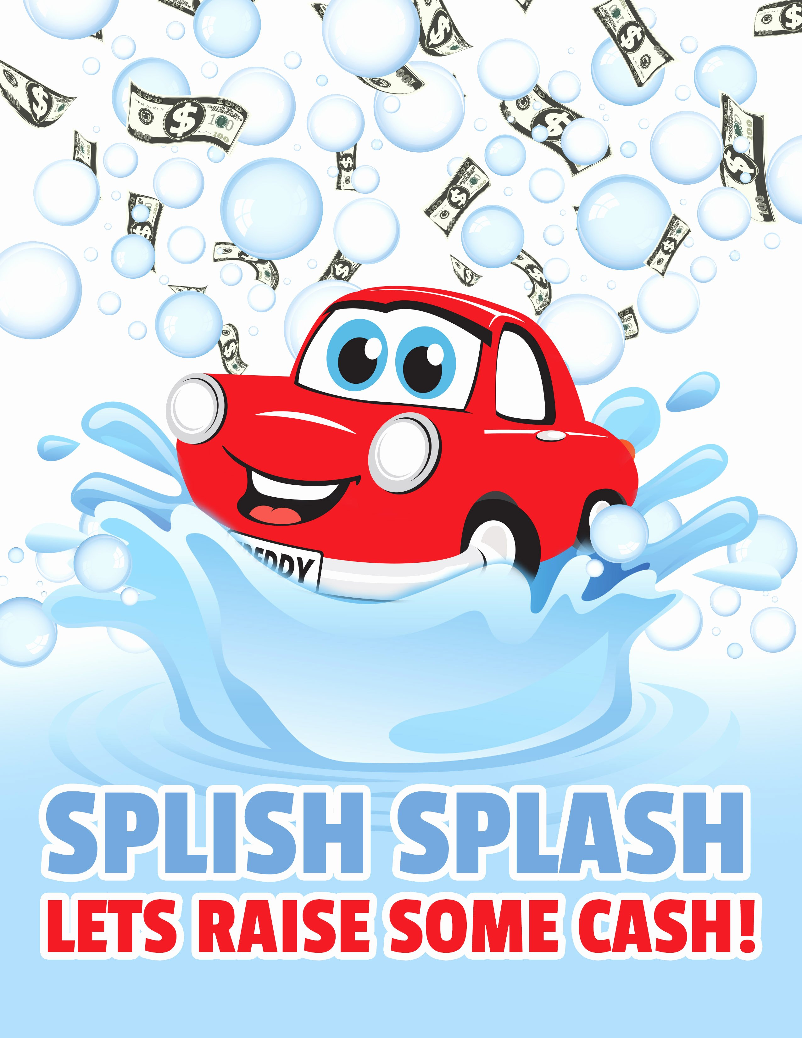 Car Wash Fundraiser Template Awesome Raise some Funds In Fabulous Style