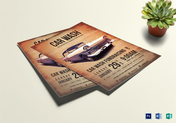 Car Wash Fundraiser Template Best Of 39 Elegant Fundraising Flyer Templates Word Psd Ai