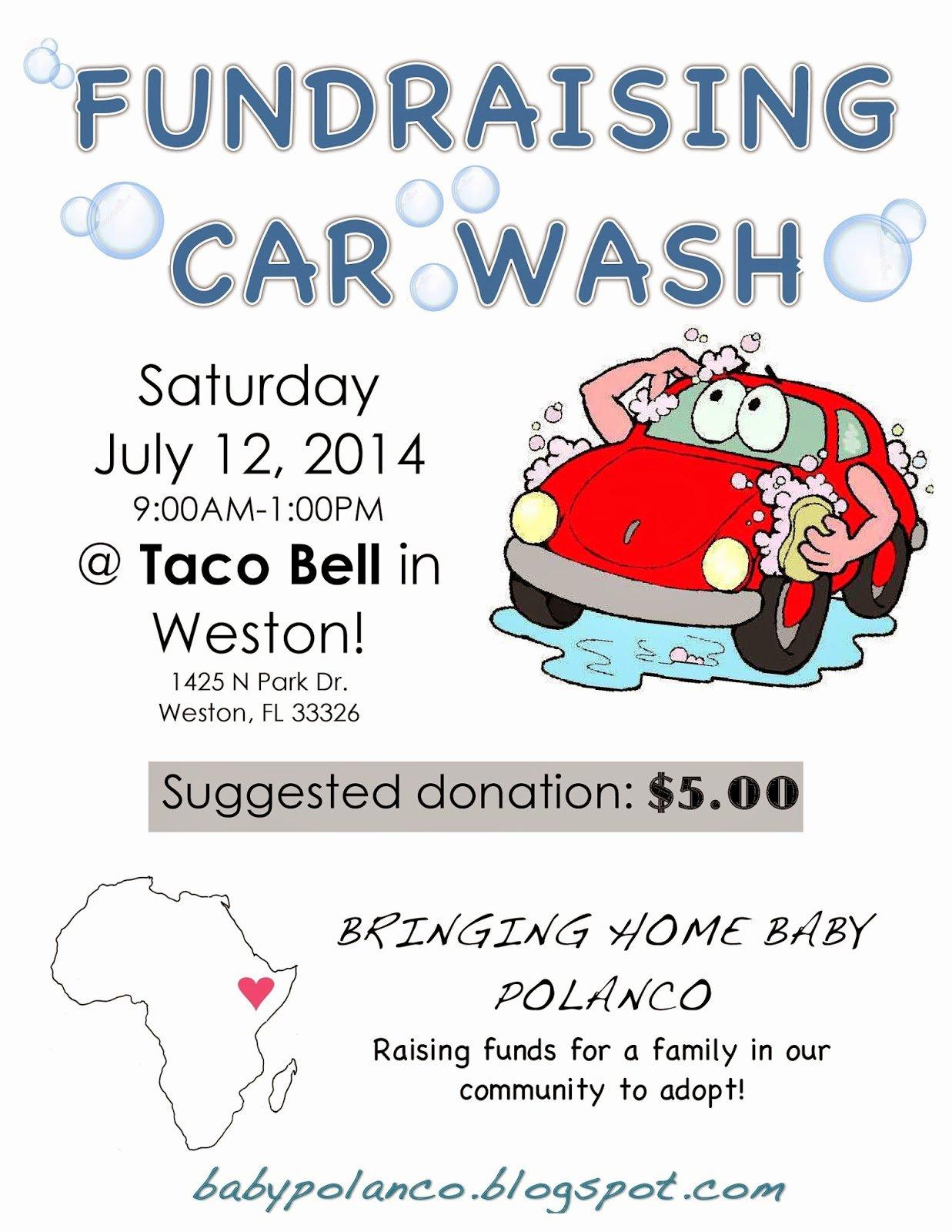 Car Wash Fundraiser Template Fresh Car Wash Fundraiser Template Tire Driveeasy