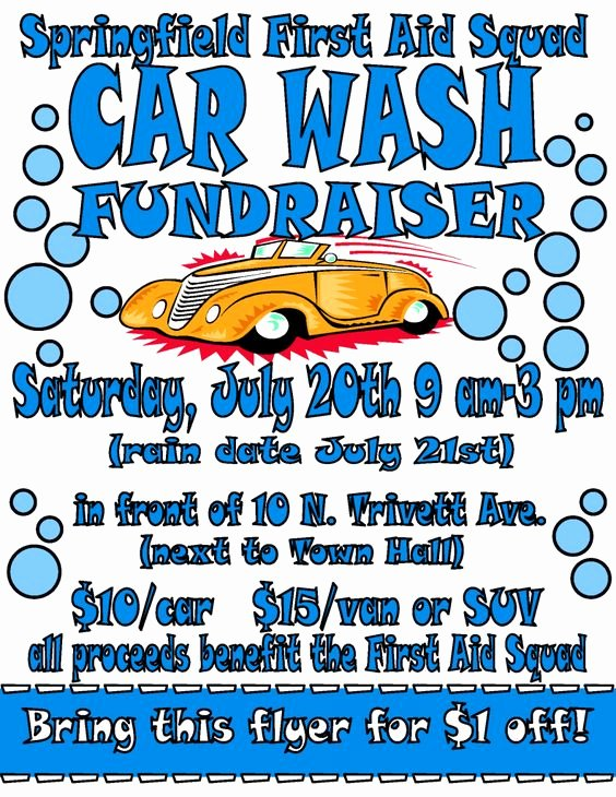 Car Wash Fundraiser Template Fresh Pinterest • the World's Catalog Of Ideas
