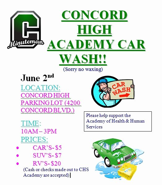 Car Wash Fundraiser Template Luxury Car Wash Fundraiser Cartoon