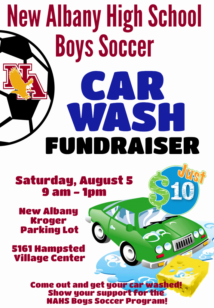 Car Wash Fundraiser Template Luxury New Albany Team Home New Albany Eagles Sports