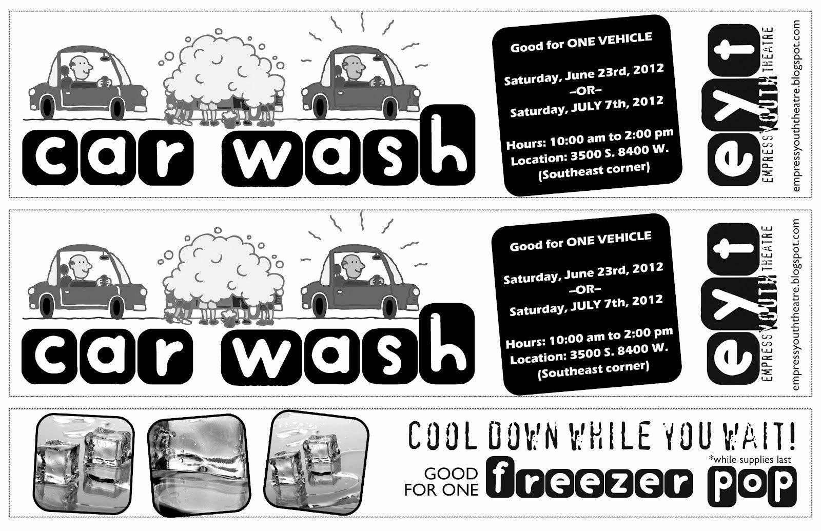 Car Wash Fundraiser Template Luxury Partthepiratebay Blog