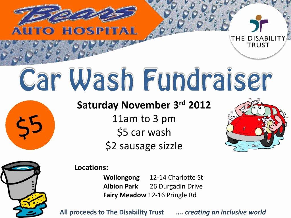 Car Wash Fundraiser Template New Car Wash Fundraiser