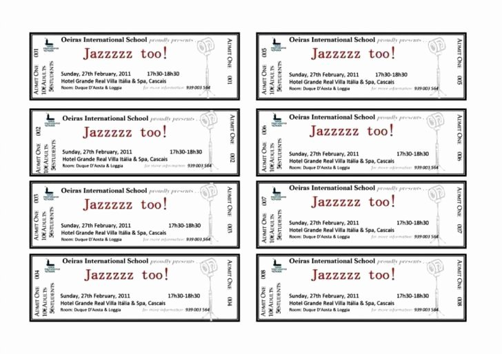Car Wash Ticket Template Awesome Create A Ticket Template