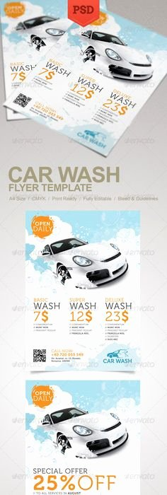 Car Wash Ticket Template Best Of Car Wash Flyer Fundraiser Church School Munity Sports