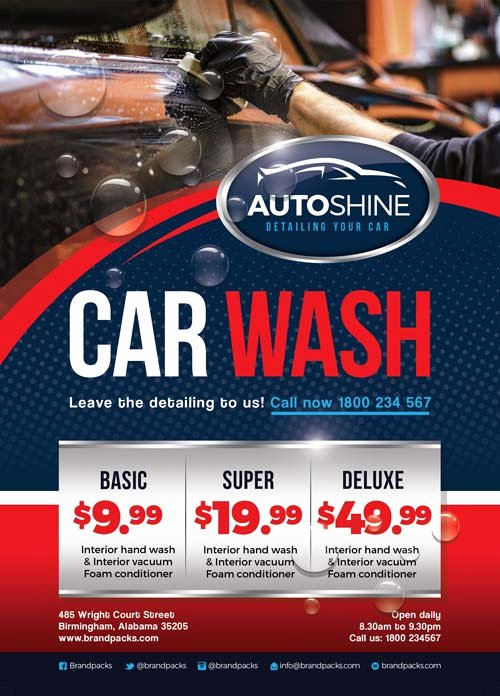 Car Wash Ticket Template Best Of Freepsdflyer