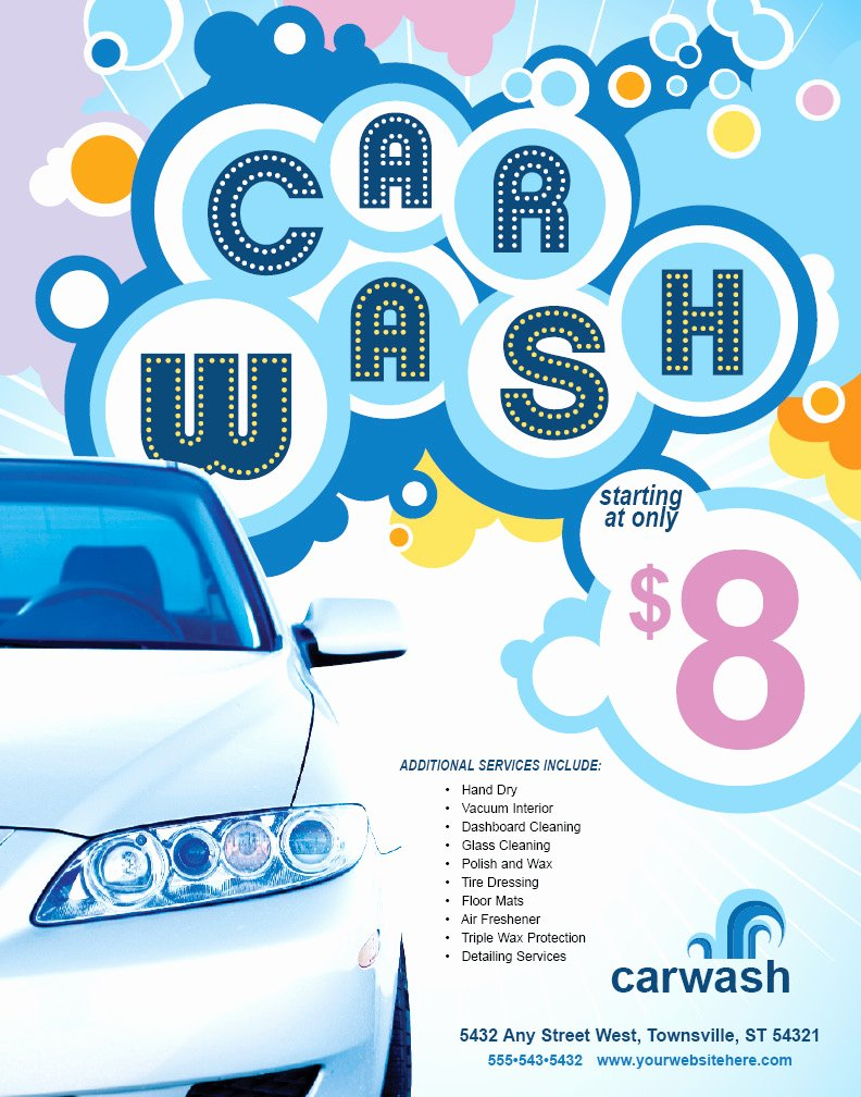 Car Wash Ticket Template New Partthepiratebay Blog
