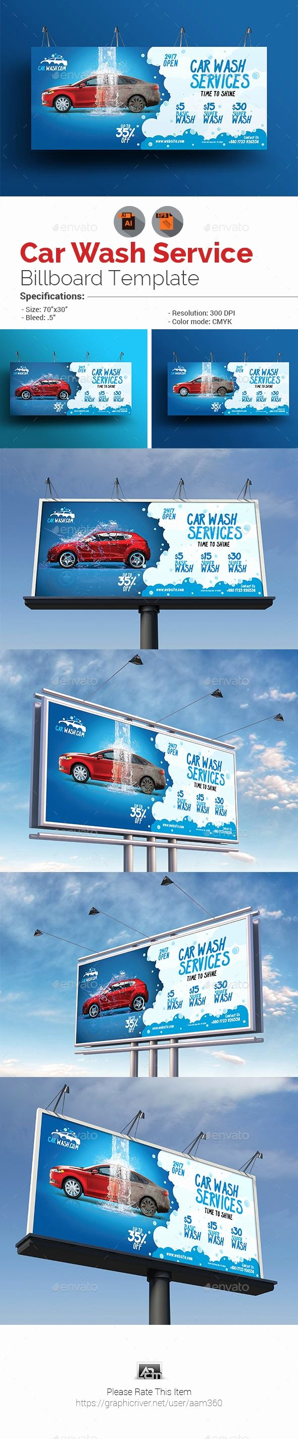 Car Wash Ticket Template Unique Best 25 Billboard Design Ideas On Pinterest