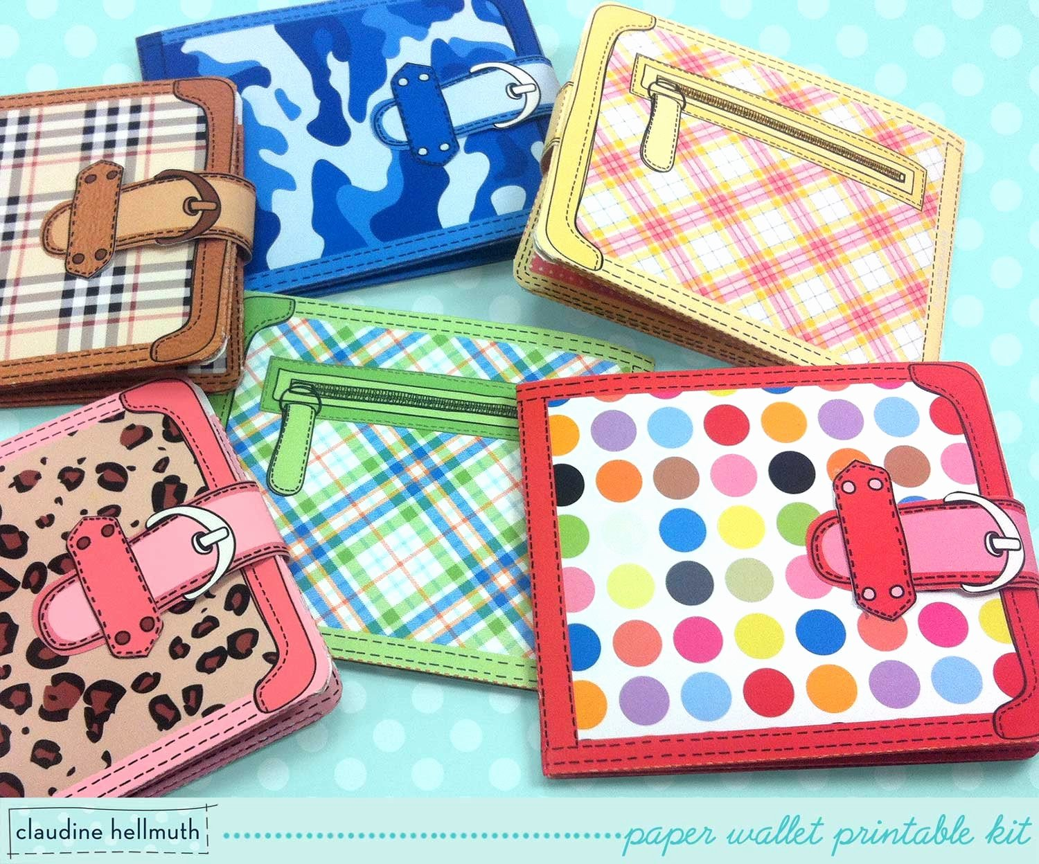 Card Holder Template Elegant Paper Wallets T Card Money Holder with Included Chore