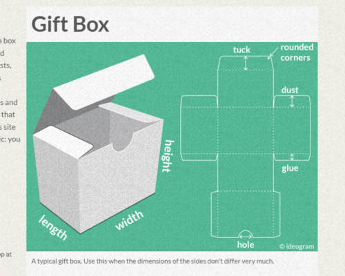 Cardboard Box Template Generator Lovely Resources to Create Your Own Paper Boxes with Cricut or