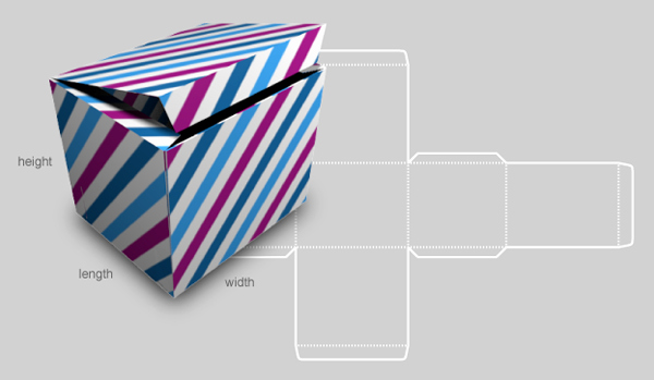 Cardboard Box Template Generator Luxury Custom Box Template Generator