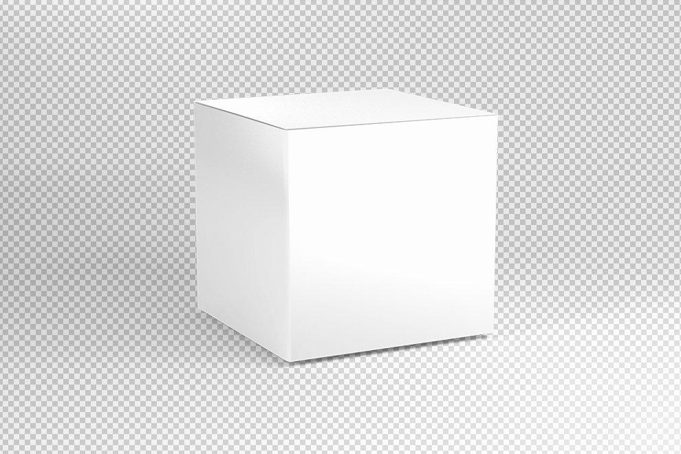 Cardboard Box Template Generator New Square Cardboard Box Mockup Generator Mediamodifier