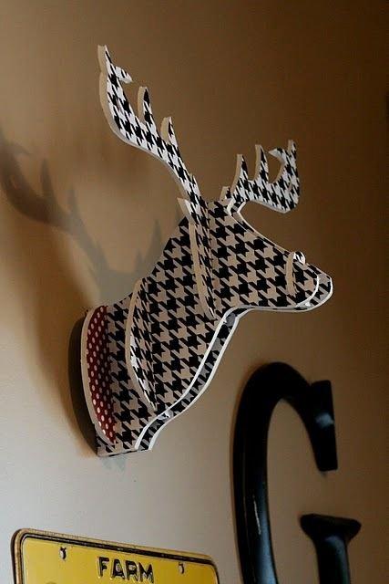 Cardboard Deer Head Template Beautiful Pin by Stephanie Noble On Craft Junk