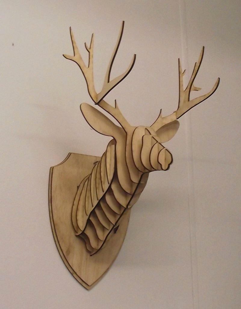 Cardboard Deer Head Template Unique Diy Cardboard Deer Head