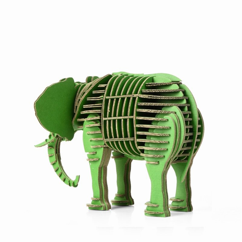 Cardboard Elephant Head Template Awesome Baby toys for Children Elephant Head Wall Decoration