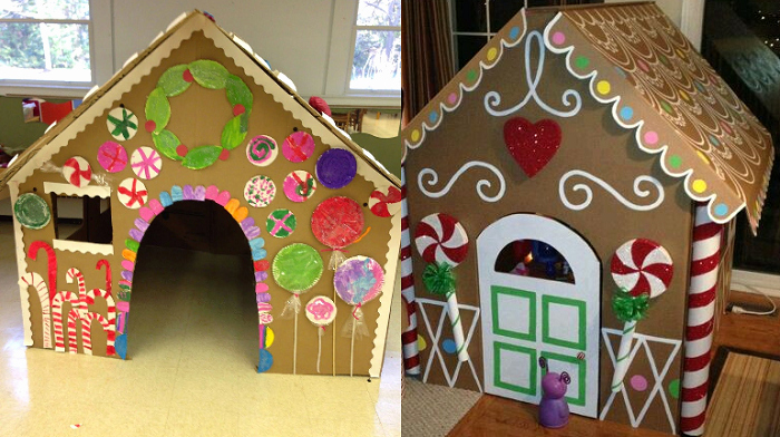 "Cardboard Gingerbread House Best Of Take the ""gingerbread House"" Up A Notch This Year with"