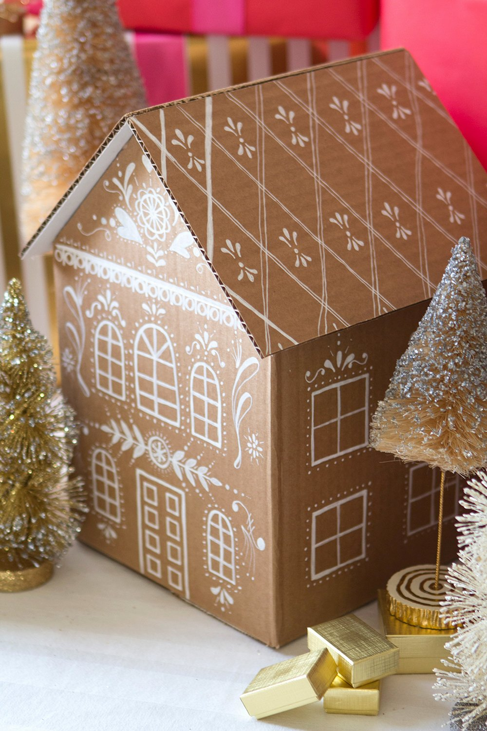 Cardboard Gingerbread House Luxury Diy Gingerbread House T Boxes