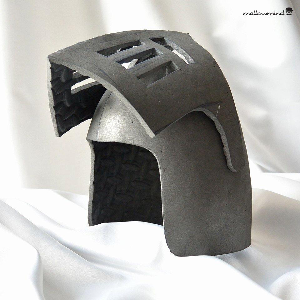 Cardboard Knight Helmet Template Best Of Diy Knight Helmet Template for Eva Foam Version B