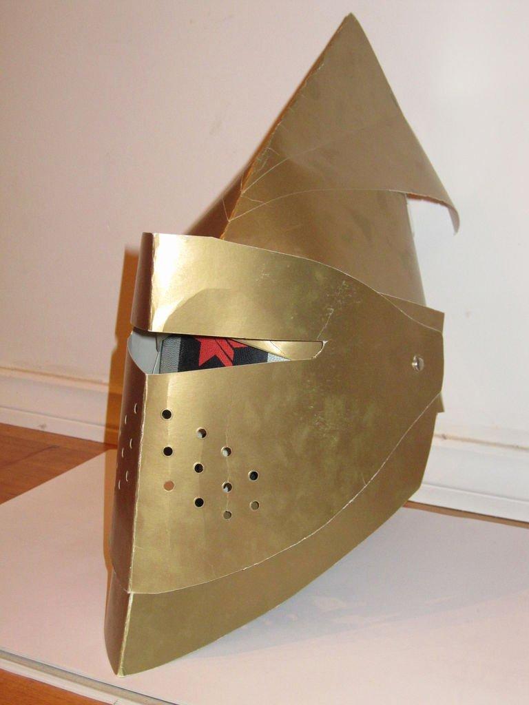 Cardboard Knight Helmet Template Elegant Cardboard Knight Helmet