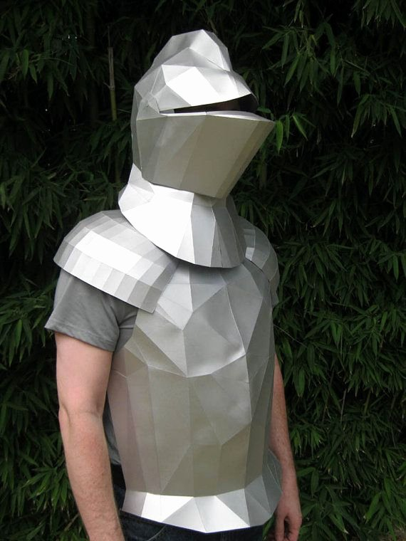Cardboard Knight Helmet Template Inspirational Make Your Own Me Val Knight Helmet with Just Paper and