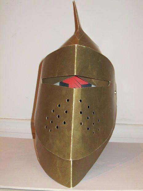 Cardboard Knight Helmet Template Unique Picture Of Cardboard Knight Helmet