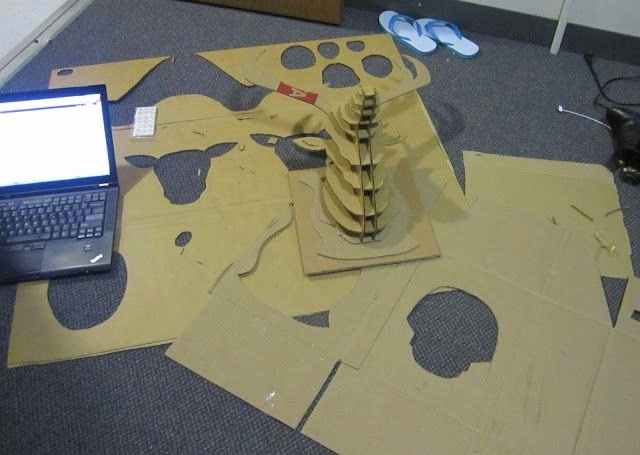 Cardboard Taxidermy Templates Best Of 17 Best Images About Reindeer On Pinterest