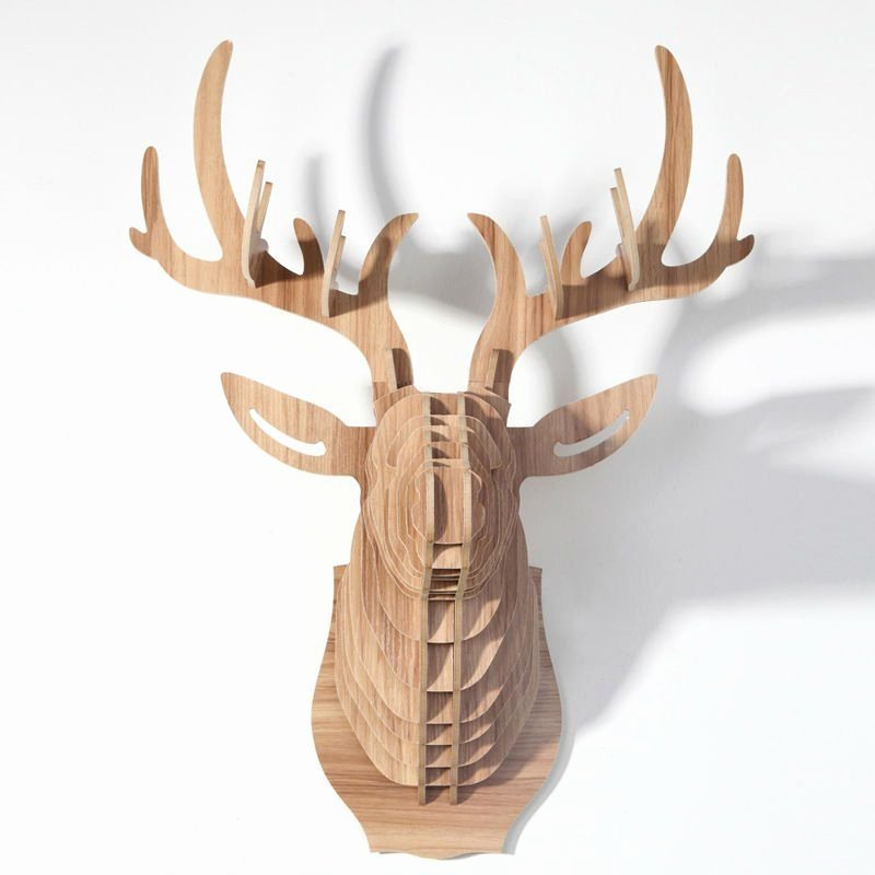 Cardboard Taxidermy Templates Best Of Cardboard Safari Mounted Deer Trophies Template Google