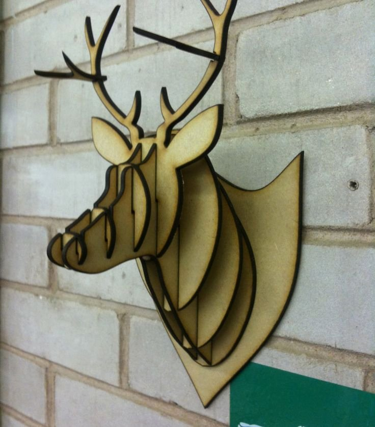 Cardboard Taxidermy Templates Elegant Best 25 Cardboard Deer Heads Ideas On Pinterest