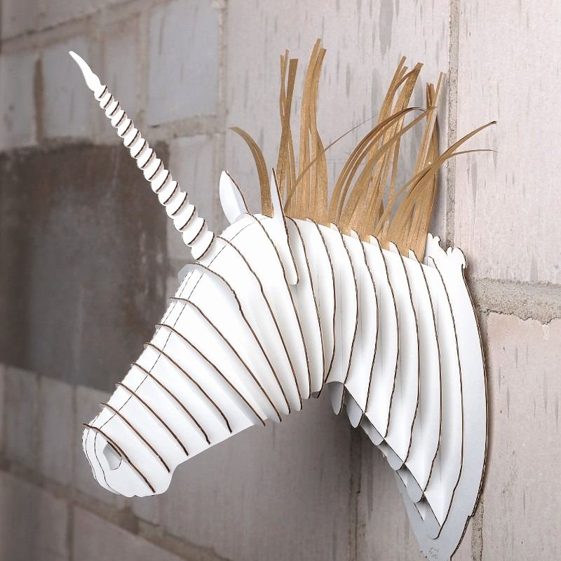 Cardboard Taxidermy Templates Elegant Cardboard Animal Head Template Diy Pinterest