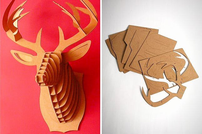 Cardboard Taxidermy Templates Fresh 35 Decor Ideas Inspired by Summer Camp