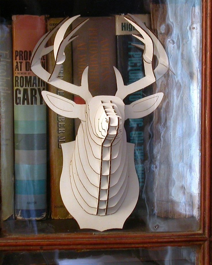 Cardboard Taxidermy Templates Lovely 1000 Ideas About Cardboard Deer Heads On Pinterest
