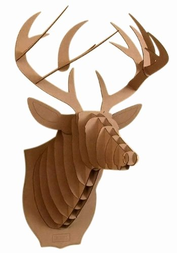 Cardboard Taxidermy Templates Luxury Cardboard Mounted Deer