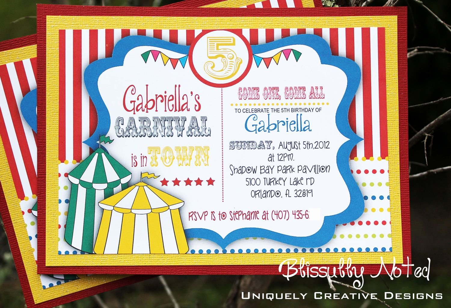 Carnival Invitation Template Free Lovely Circus Invitation Template