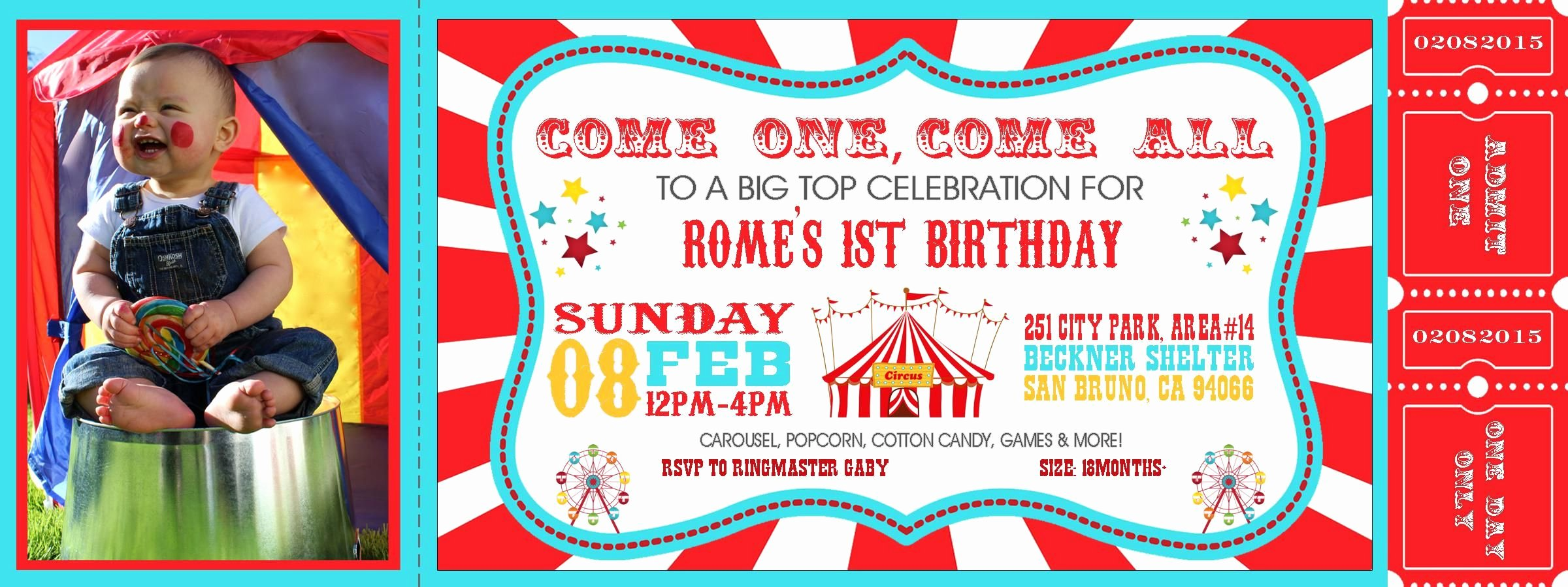 Carnival Invitation Templates Elegant Carnival theme Party Invitations Invitation Card Design