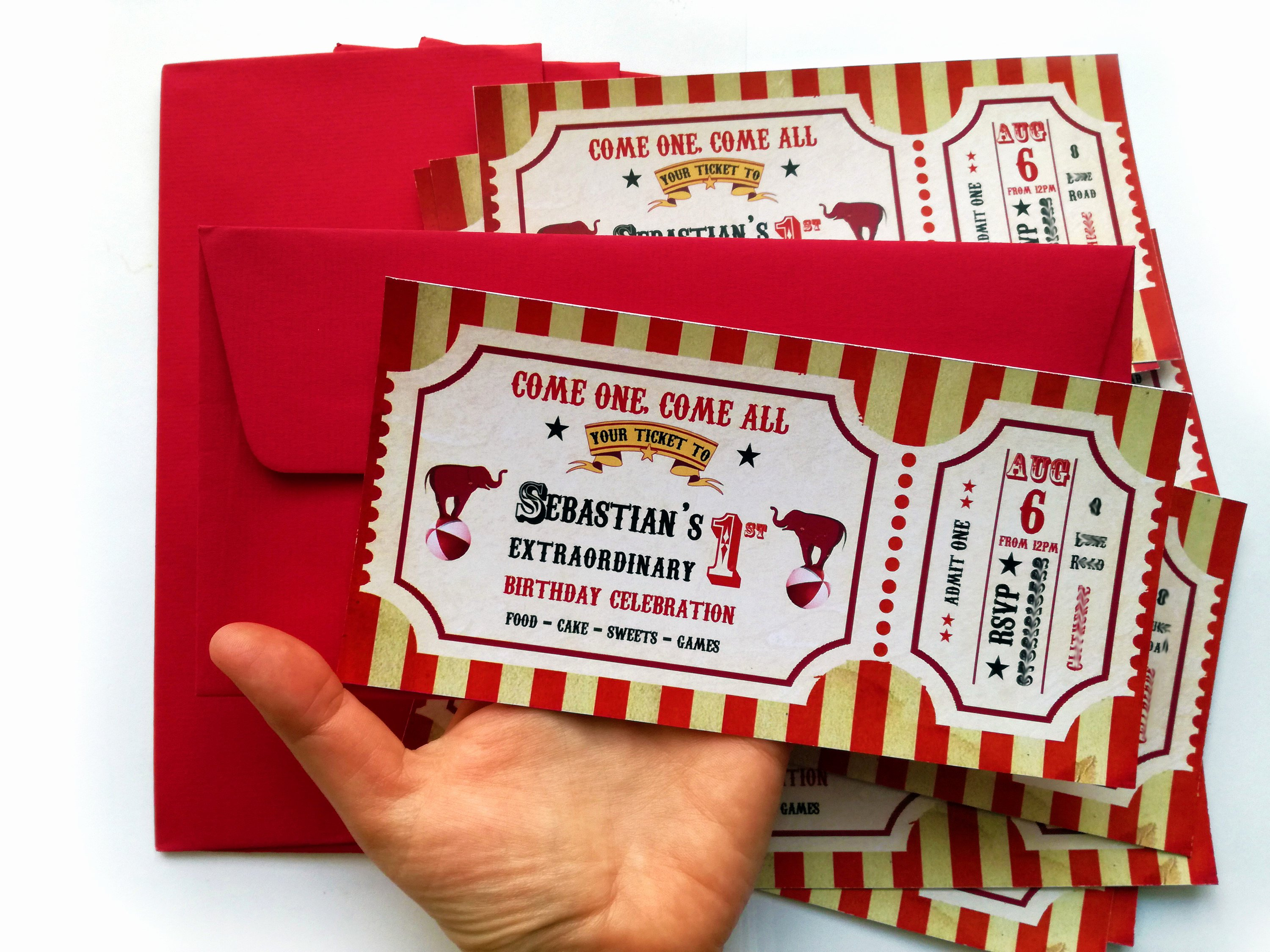 Carnival Ticket Birthday Invitations Awesome Circus Ticket Invitation Circus Invitation Circus Party