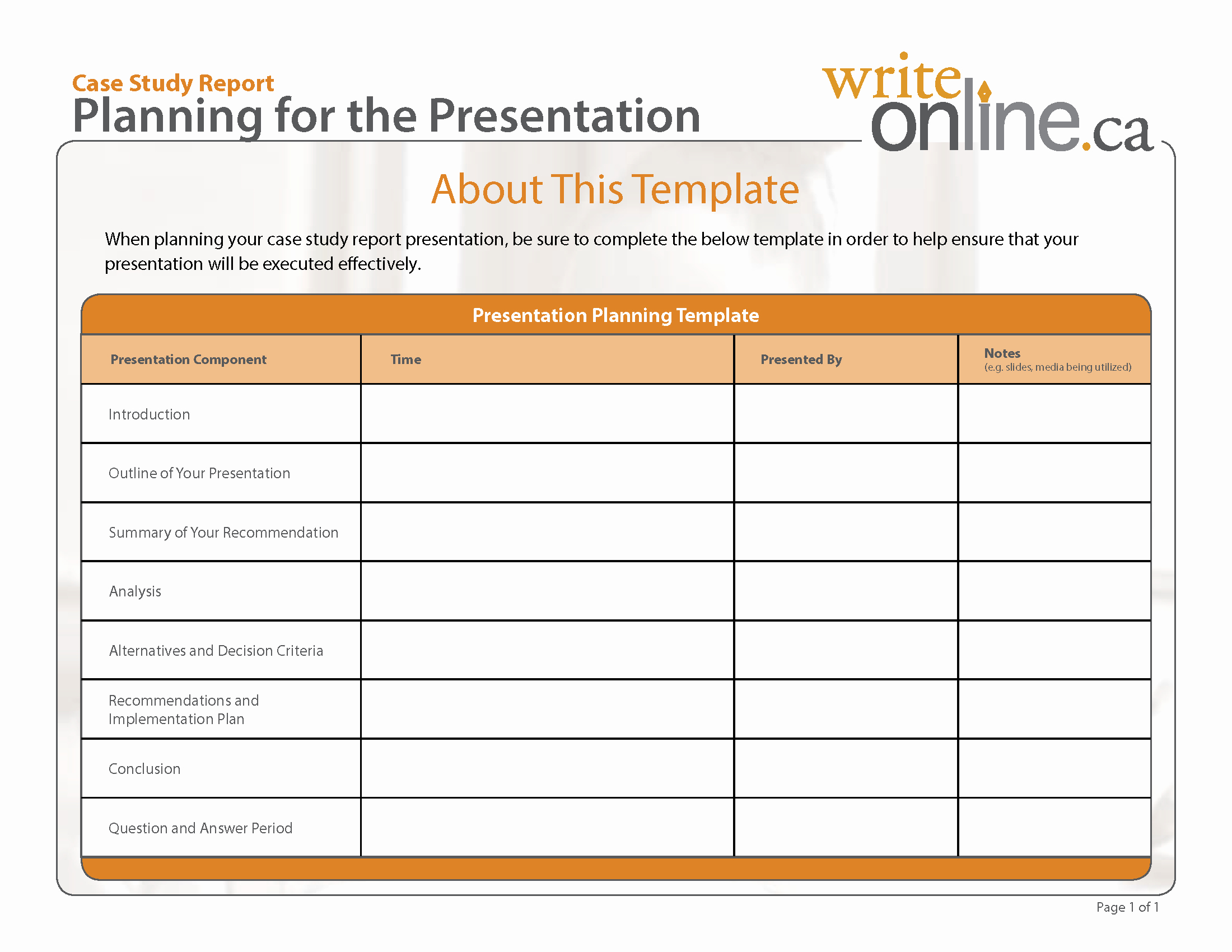 Case Review Template Beautiful Case Study Literature Review Outline
