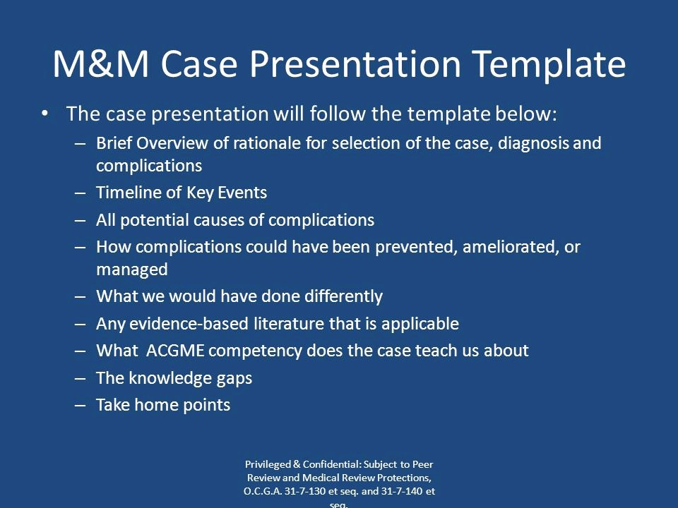 Case Review Template New Emory University Department Of Gynecology & Obstetrics