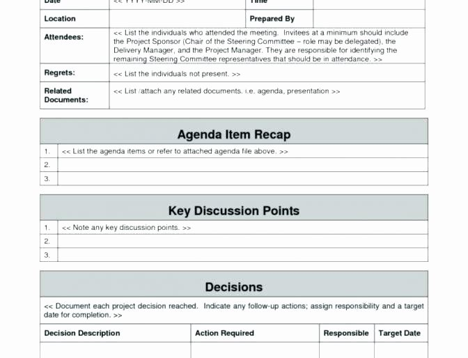 Case Review Template New Steering Mittee Meeting Agenda Template