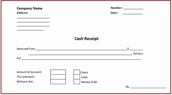 Cash Sale Receipt Template Word Beautiful Business Cash Receipt Template is Created In format that