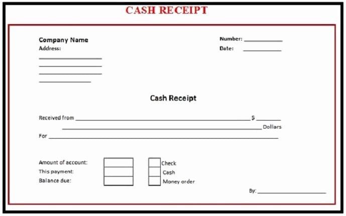 Cash Sale Receipt Template Word Elegant 6 Free Cash Receipt Templates Excel Pdf formats