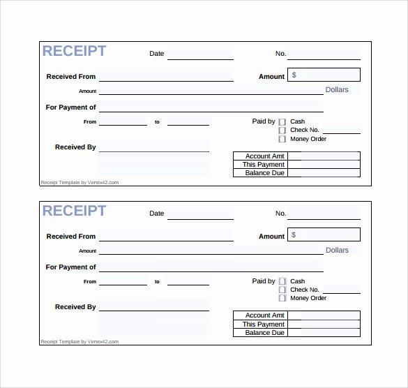 Cash Sale Receipt Template Word Elegant Sample Sales Receipt Template 19 Free Documents In Word