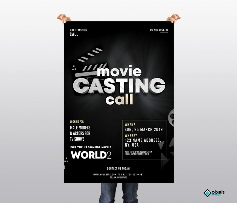 Casting Call Flyer Template Awesome Casting Call Free Psd Flyer Template Free Psd Flyer
