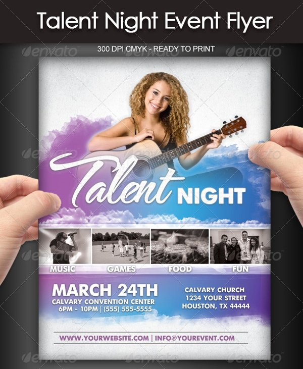 Casting Call Flyer Template Luxury 22 Talent Show Flyers Psd Vector Eps Jpg Download