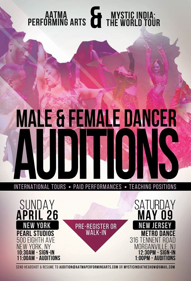 Casting Call Flyer Template Luxury Bollywood Dance Auditions In New Jersey & New York