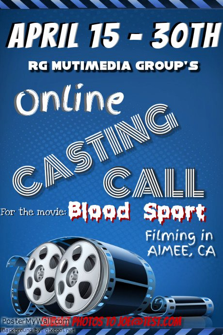 Casting Call Flyer Template Luxury theatre and Poster Templates